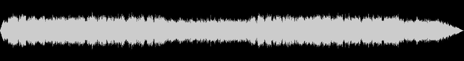 透明感のある笛のヒーリング音楽の未再生の波形