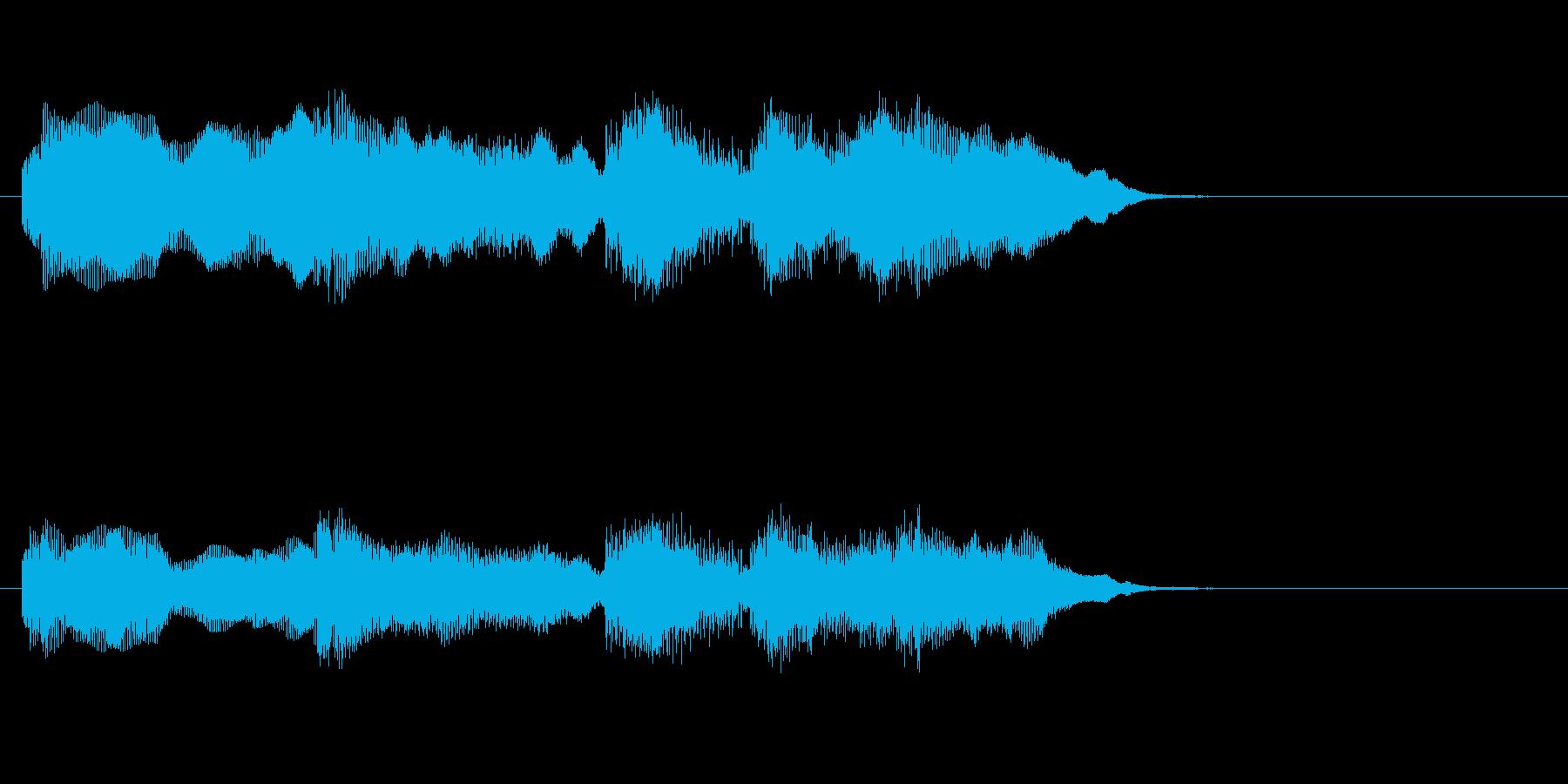 中華5 レアカード レベルアップの再生済みの波形