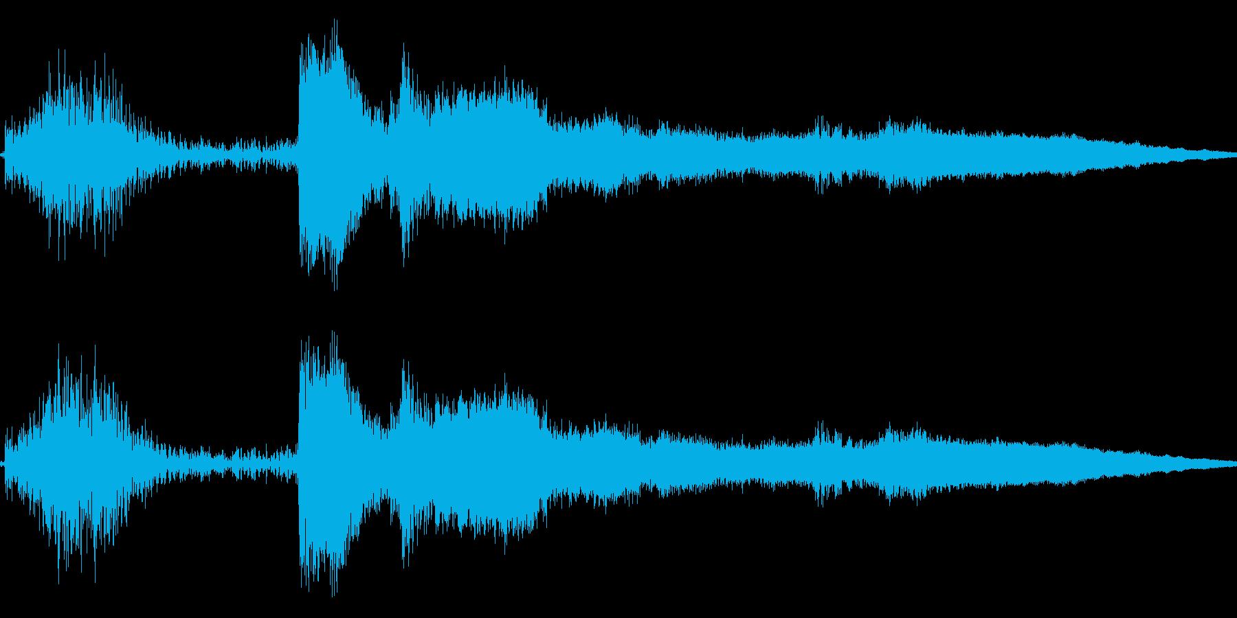 コイン レジ ショップ アイテムゲット5の再生済みの波形