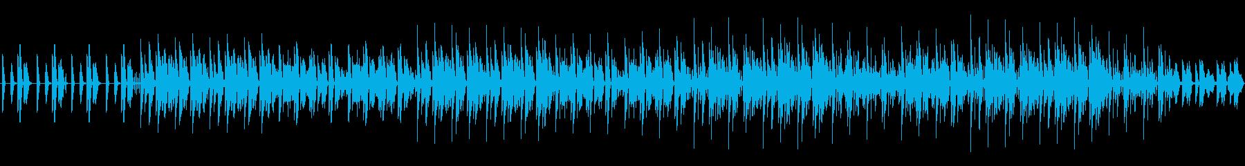シリアスなイメージ テクスチャー系の再生済みの波形