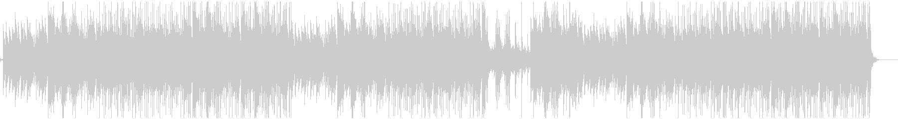 メロディックなピアノ旋律のLofi曲の未再生の波形