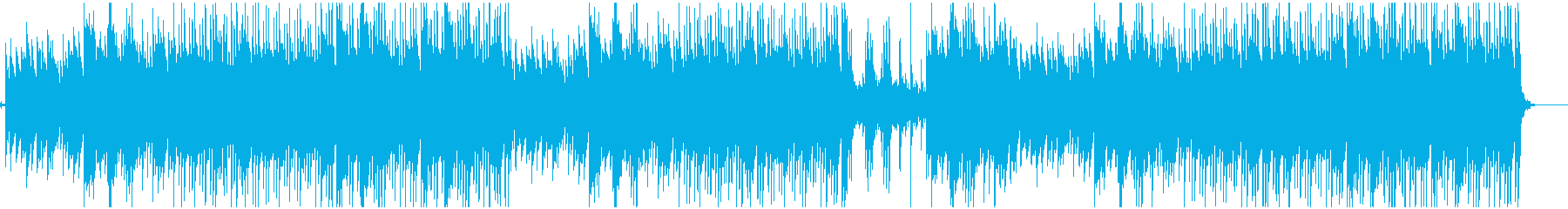 メロディックなピアノ旋律のLofi曲の再生済みの波形