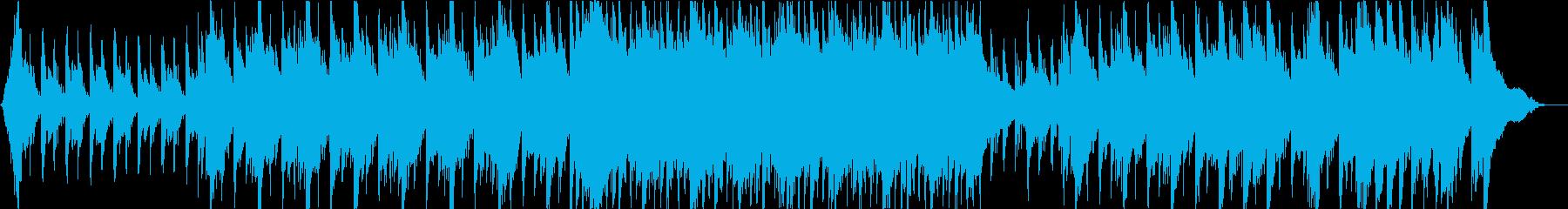壮大で前向きなピアノ&ストリングスの再生済みの波形