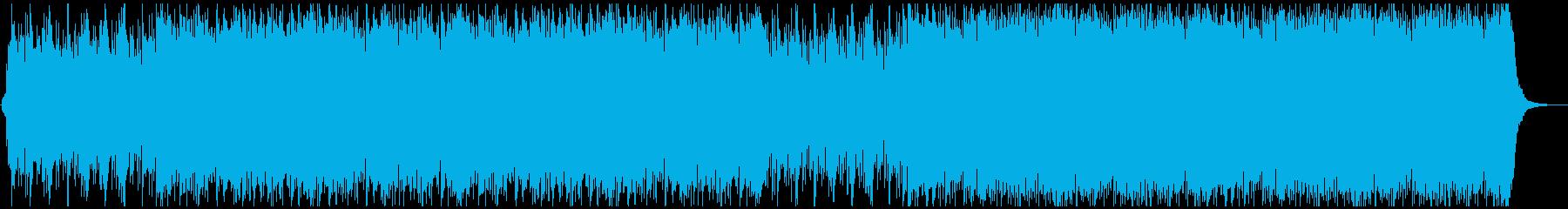 インディーロック ポップロック 現...の再生済みの波形