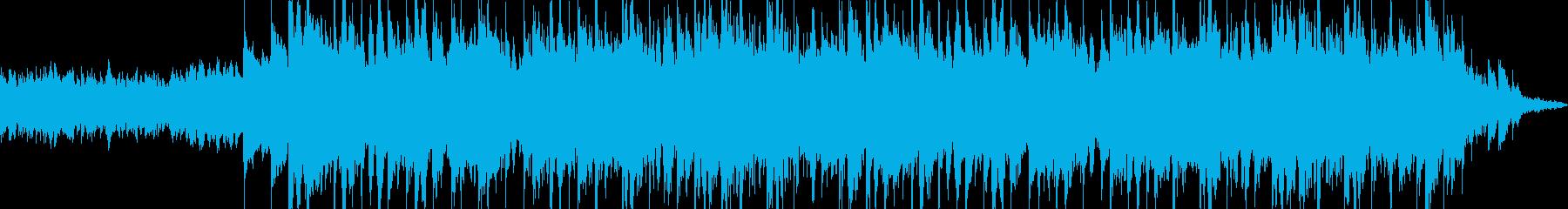 ピアノとシンセのメロディーとイギリ...の再生済みの波形