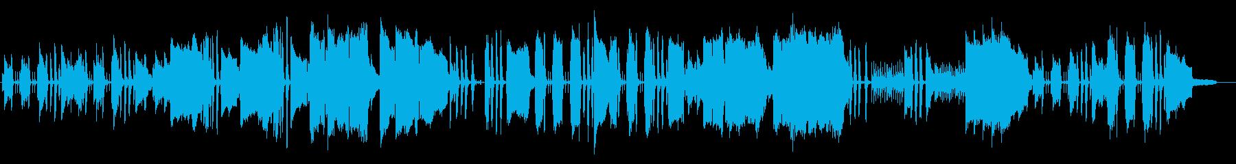 クラリネットとオーボエ、木琴の優しい音楽の再生済みの波形