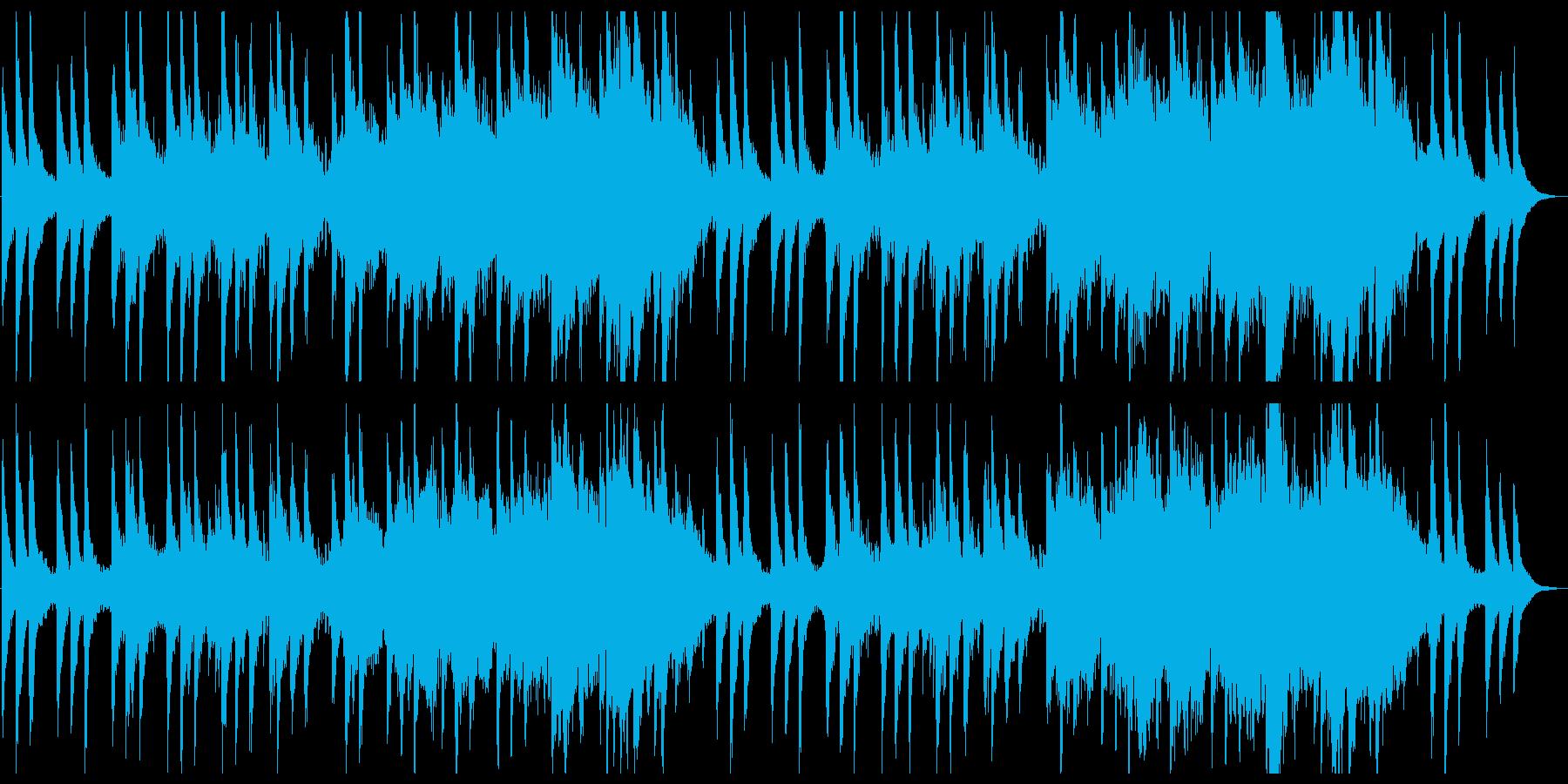 上品で感動的なピアノとストリングスの再生済みの波形