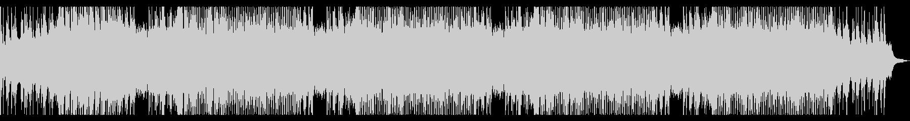 ピアノのアンビエント ロングの未再生の波形