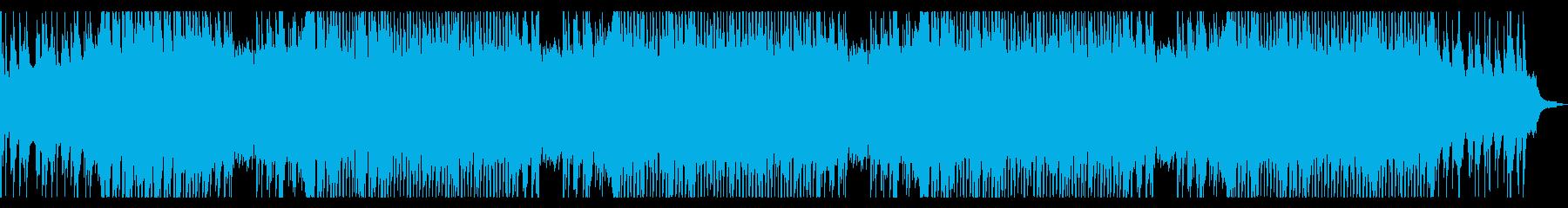 ピアノのアンビエント ロングの再生済みの波形