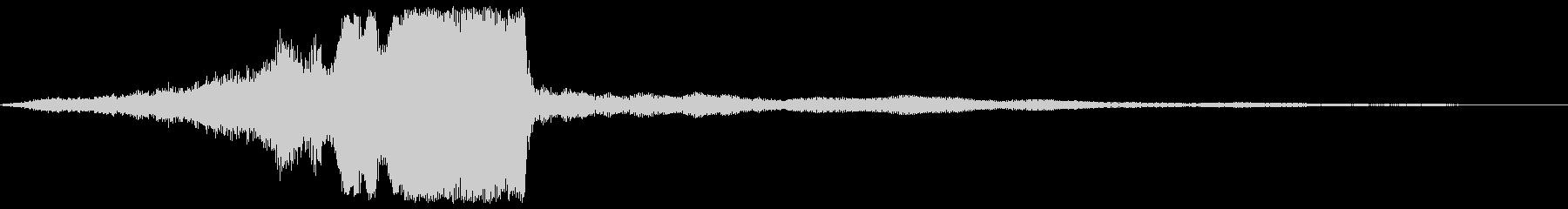 【タイトル】映像美に合うダークサウンド3の未再生の波形