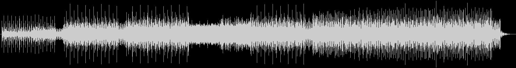 クールな4つ打ちハウス ループ系の未再生の波形
