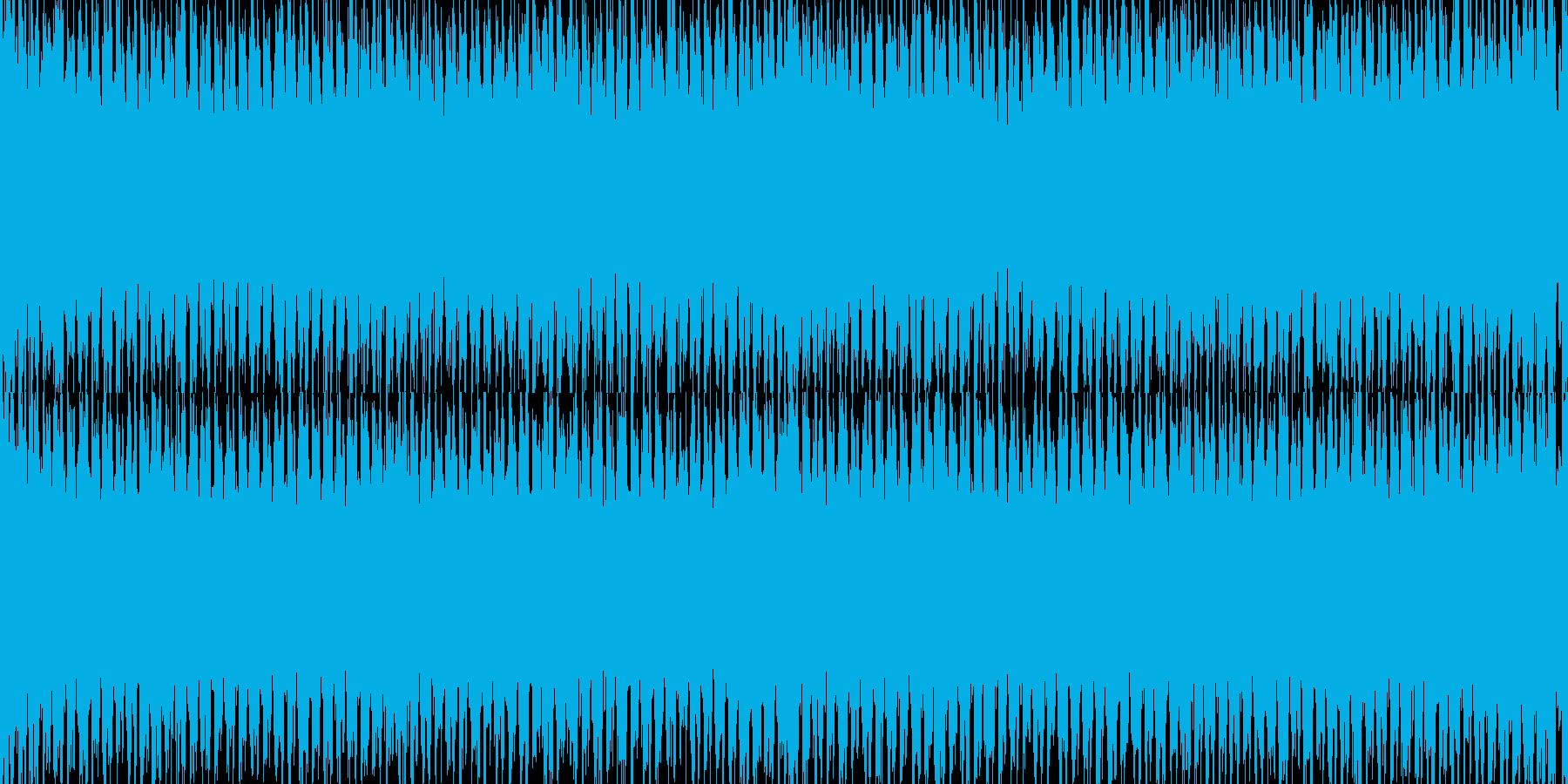 【EDMループ素材】企業・映像制作向きEの再生済みの波形