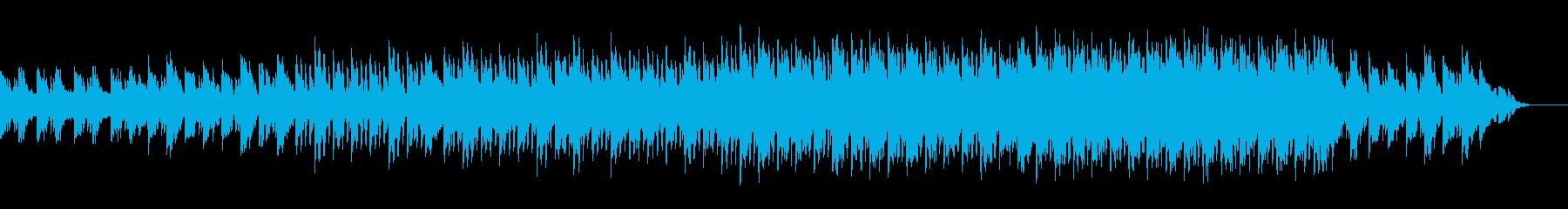 ウェディング シンプル 落ち着いた映像の再生済みの波形