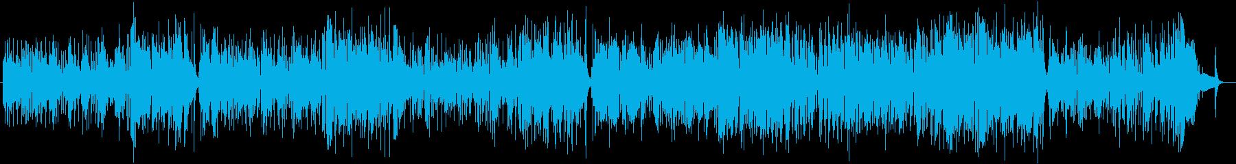 スネアのリズムがオシャレなポップスの再生済みの波形