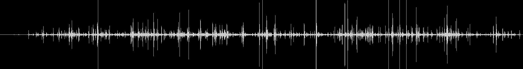 スローボーンクラッシュ、ヒューマン...の未再生の波形