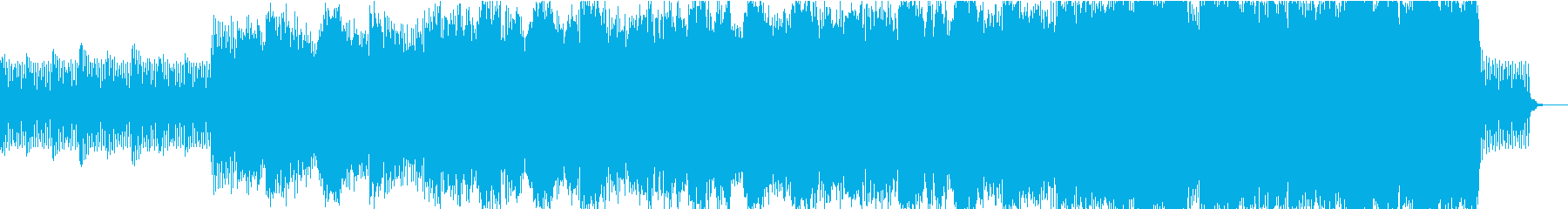 式典をイメージしたオープニング曲の再生済みの波形