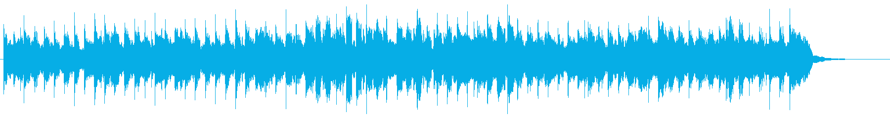 ハーモニカが印象的な軽快なジングルの再生済みの波形