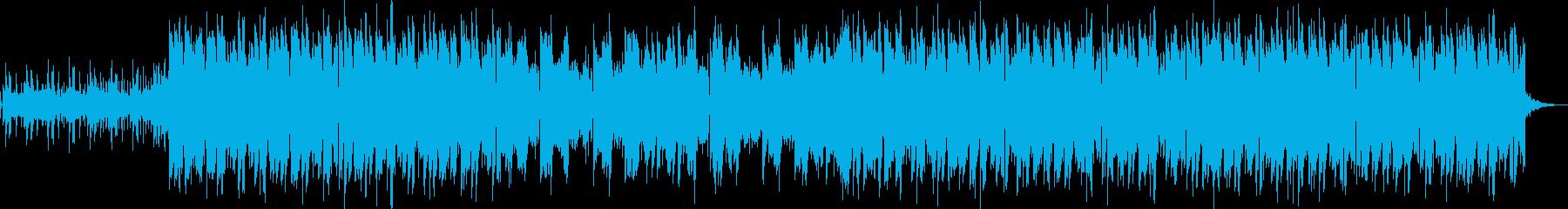 ナチュラルで幻想的、EDM風ポップスの再生済みの波形