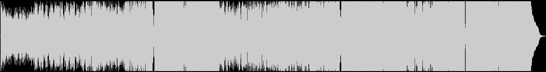 メロディアスな洋楽風プログレッシブハウスの未再生の波形