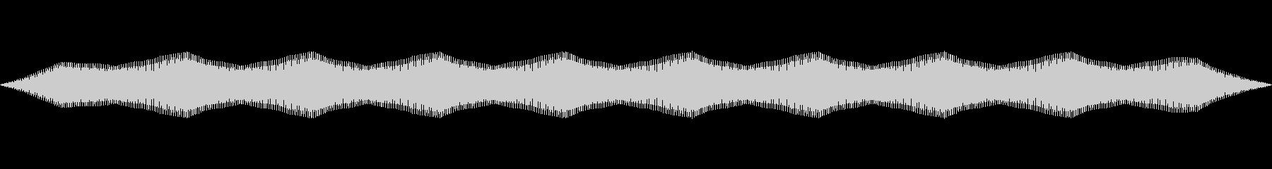 電気パルスバズノイズの未再生の波形