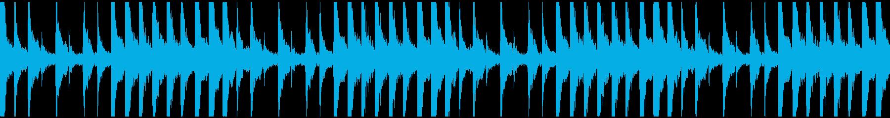 いたずら子供、ピチカート、サウンドロゴLの再生済みの波形