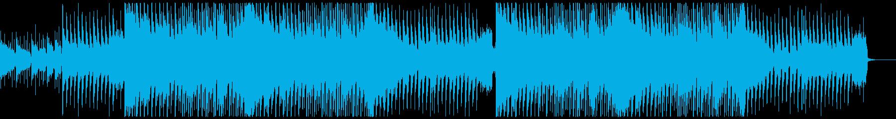 爽やかな4つ打ちポップ・ロックの再生済みの波形