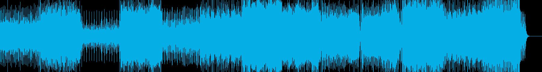 壮大で重厚なトランス -ハードの再生済みの波形