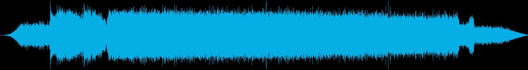 大型ディーゼルエンジンセメントカッ...の再生済みの波形