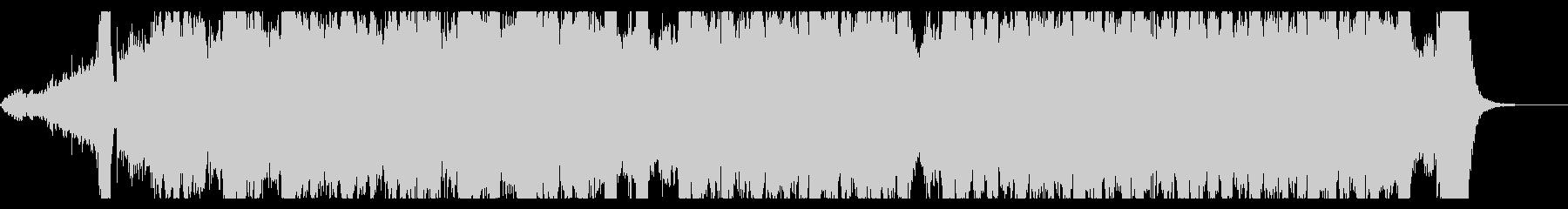 トランペットと弦楽器のミニオーケストラの未再生の波形