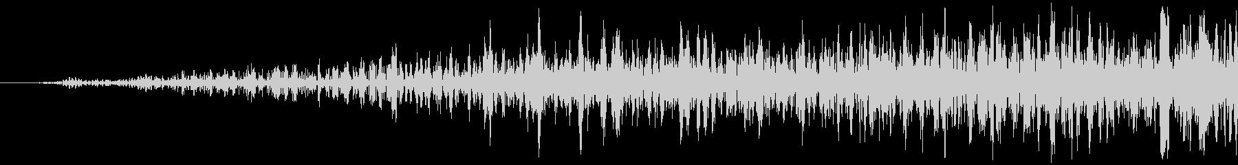 シューッという音EC07_87_2の未再生の波形