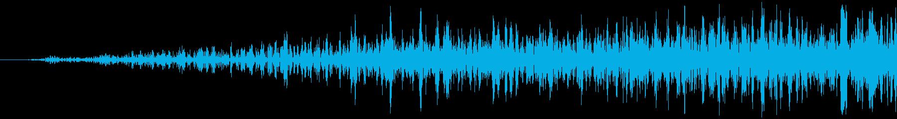 シューッという音EC07_87_2の再生済みの波形