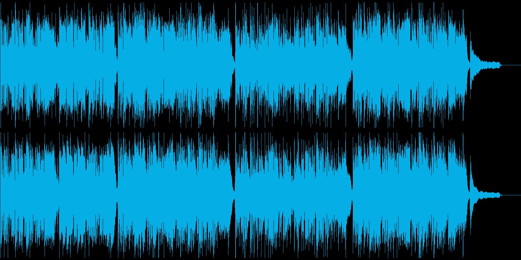子供の冒険、すこしふしぎなリコーダー曲の再生済みの波形