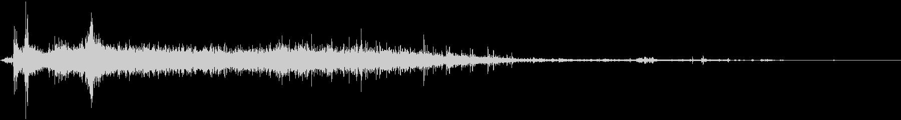 【環境音】 38 水 / スプラッシュの未再生の波形