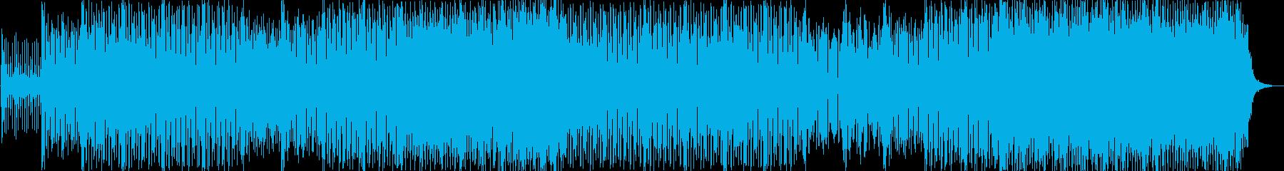 ダンス アクション 技術的な 静か...の再生済みの波形