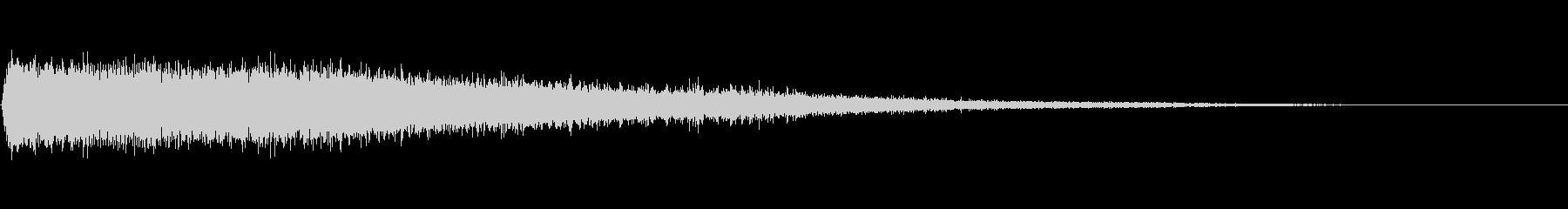 ジェットアウェイホワイトノイズブラストの未再生の波形