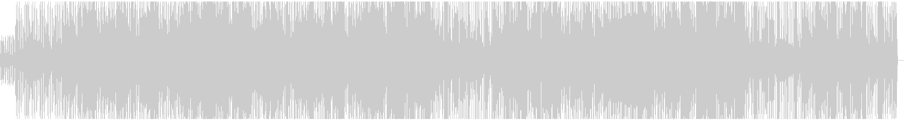 DnB要素のある軽快なエレクトロの未再生の波形