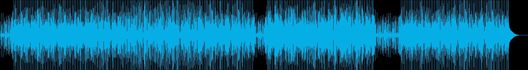 のんびりアコースティックのカントリーの再生済みの波形