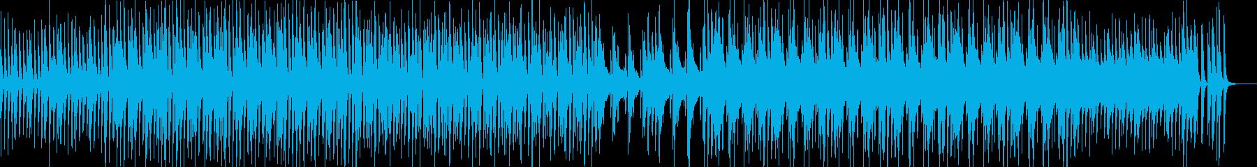 スキップ曲ピアノ企業VP楽しい明るいの再生済みの波形