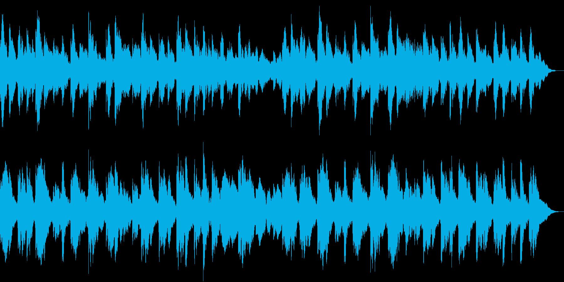 オルゴール(ループ)の再生済みの波形