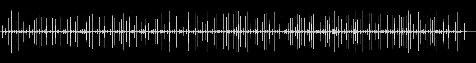 釣りリール-ロングの未再生の波形