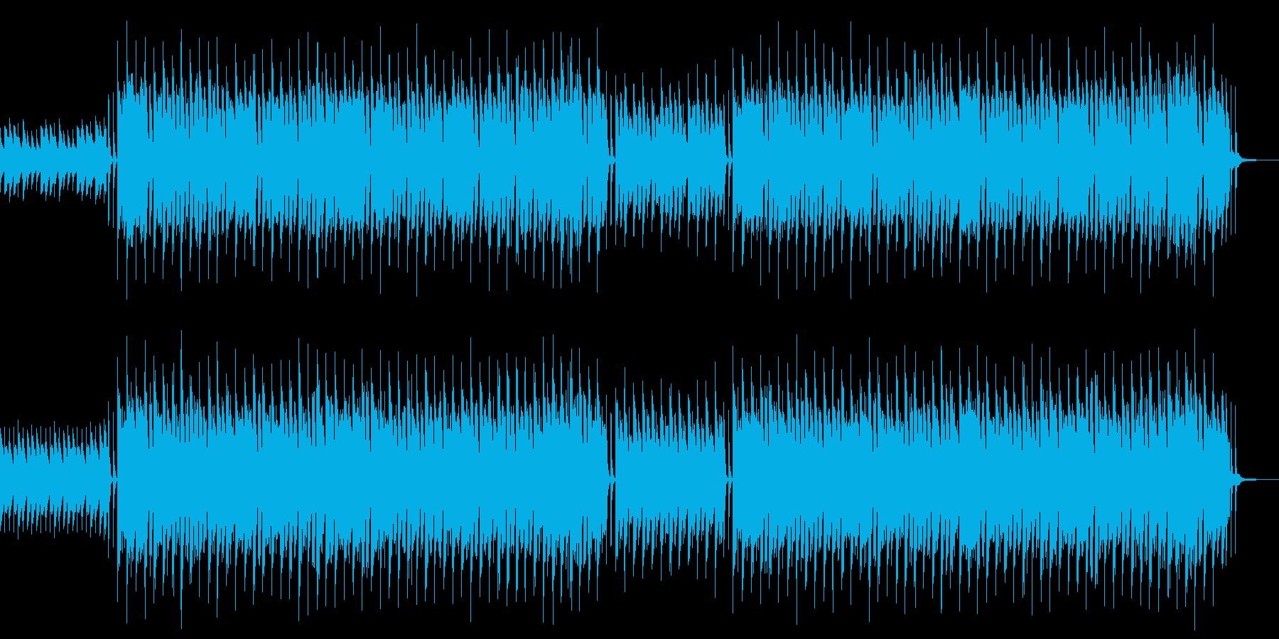 ポリリズム・変拍子・楽しい・CMの再生済みの波形