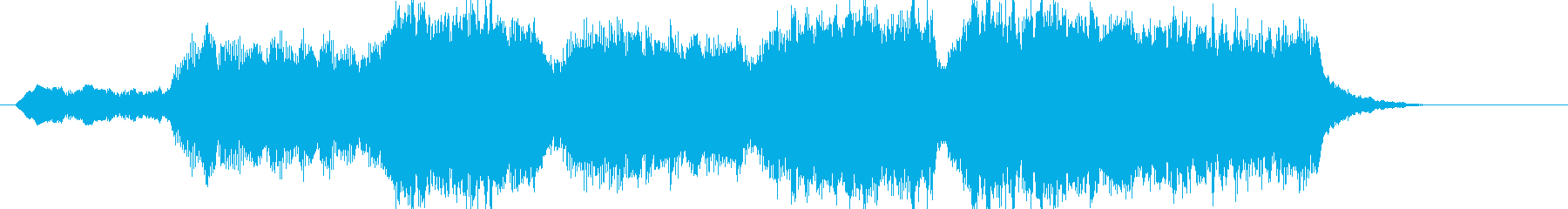 ファンファーレ・山頂の朝日の再生済みの波形