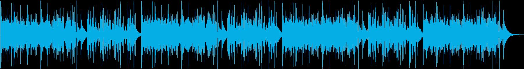 アコースティックギター 静かな 幻想的の再生済みの波形