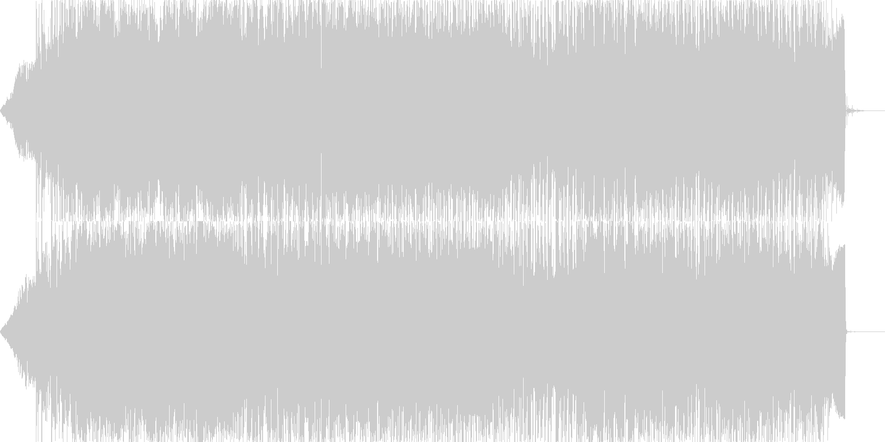 ロックエレクトロニック アクション...の未再生の波形