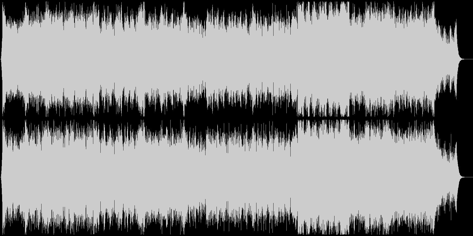 【EDM】爽やかなドラムンベース フル歌の未再生の波形