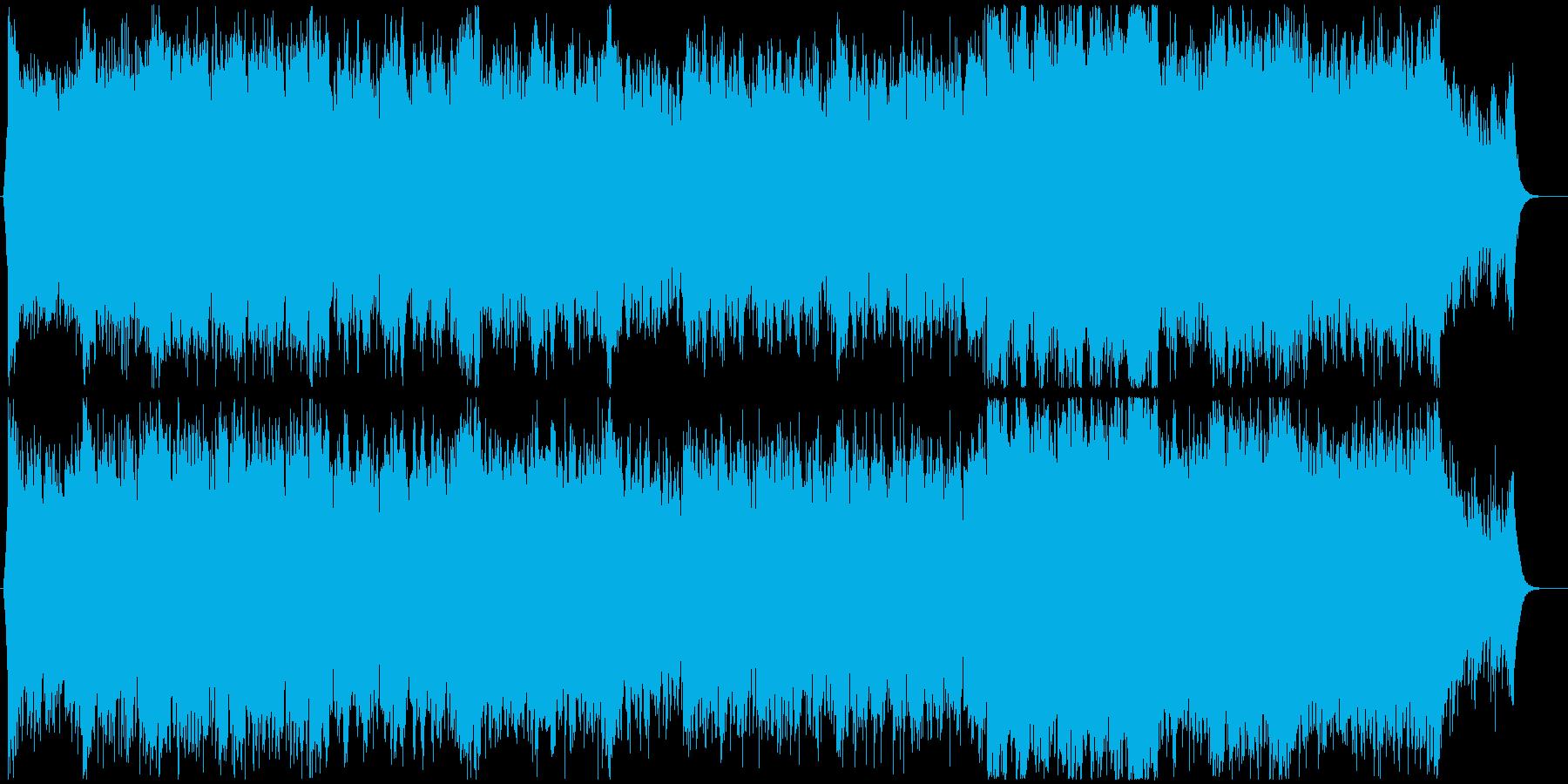 【EDM】爽やかなドラムンベース フル歌の再生済みの波形