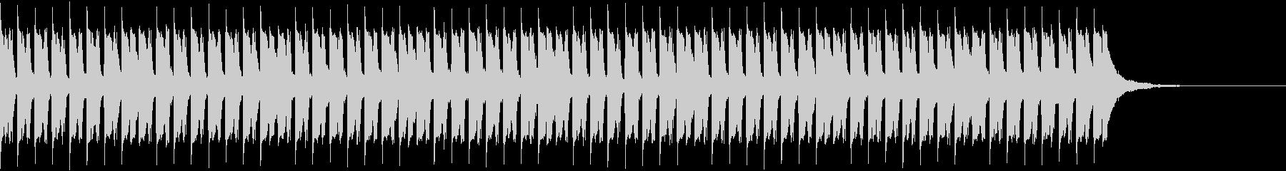 トランスビートとシンプルなシーケンスの未再生の波形