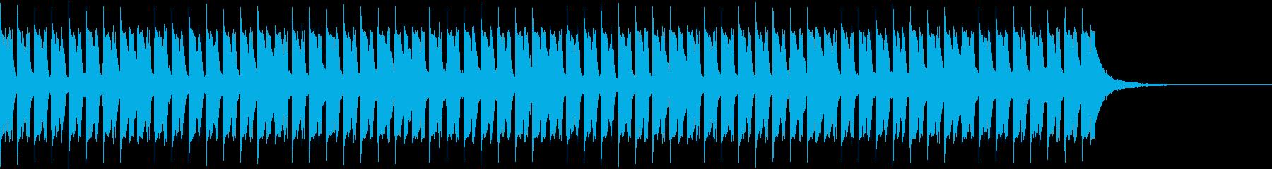 トランスビートとシンプルなシーケンスの再生済みの波形
