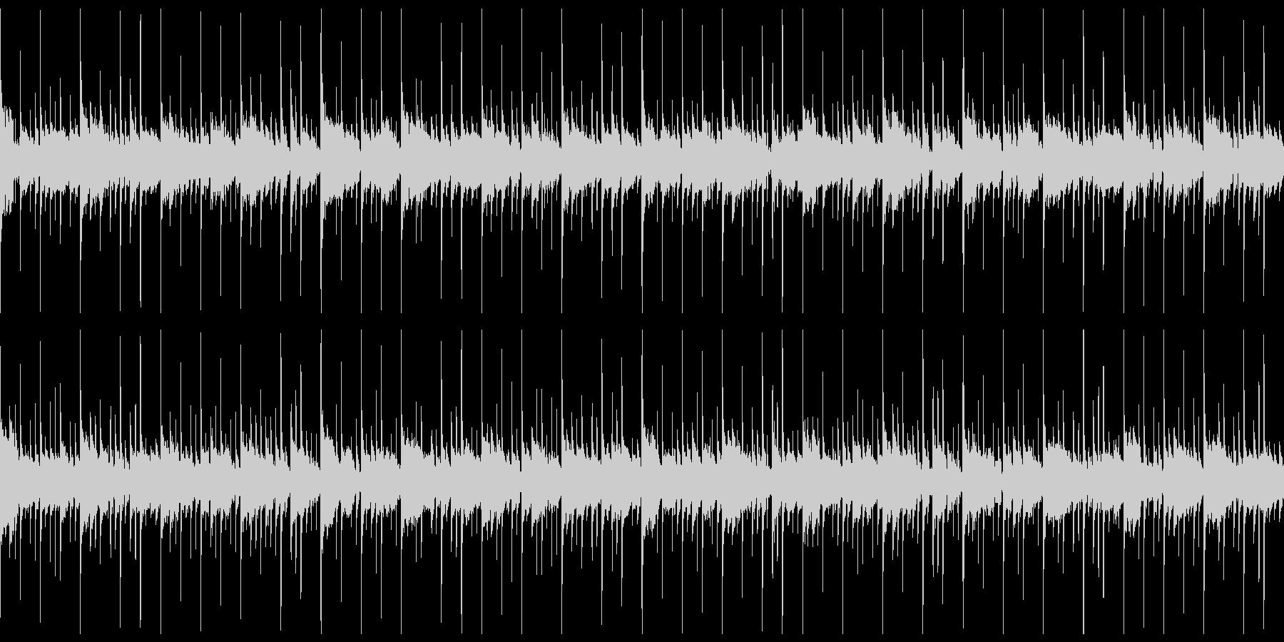 敵基地や陣地に潜入する時のBGMver2の未再生の波形