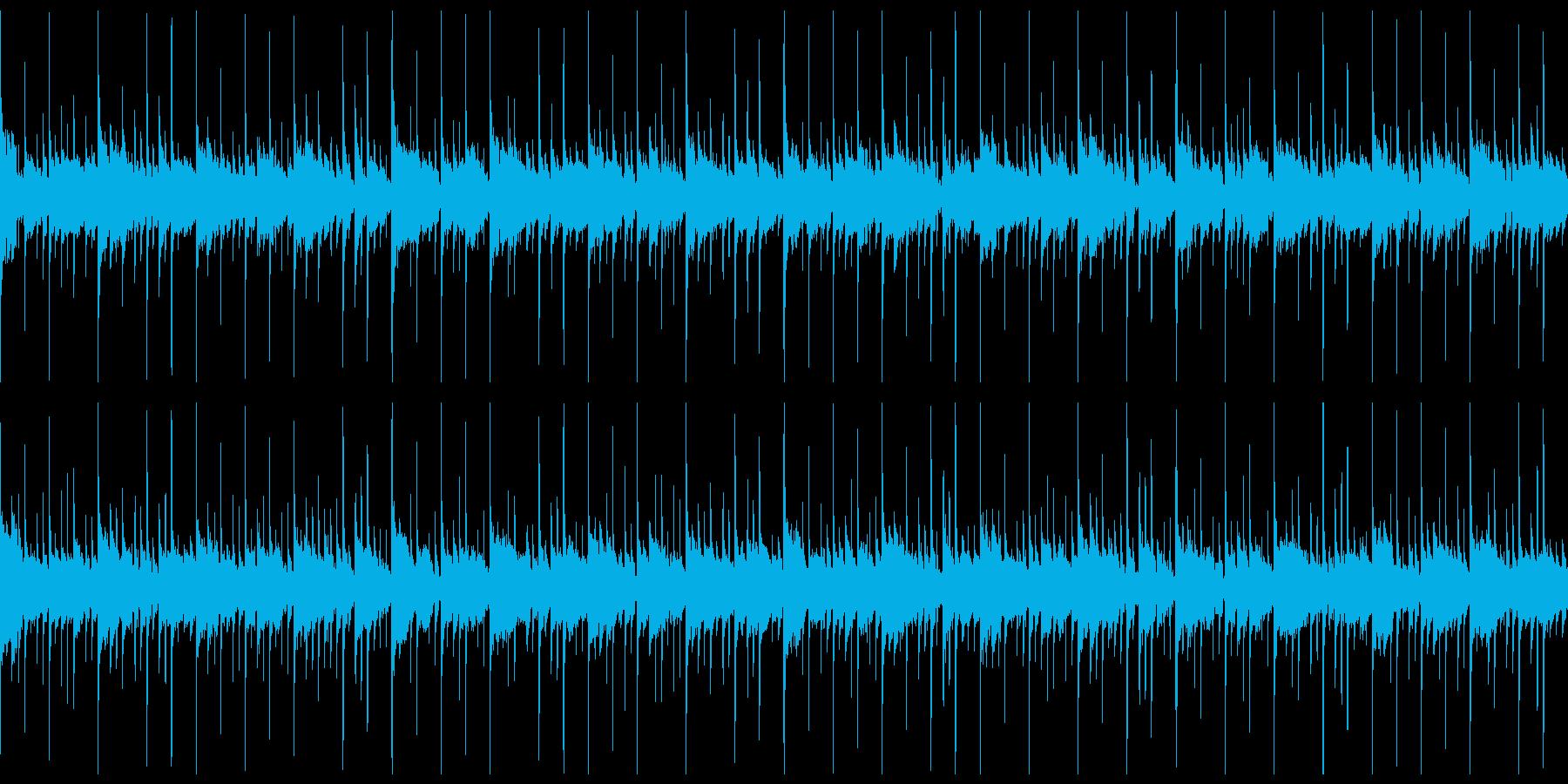 敵基地や陣地に潜入する時のBGMver2の再生済みの波形
